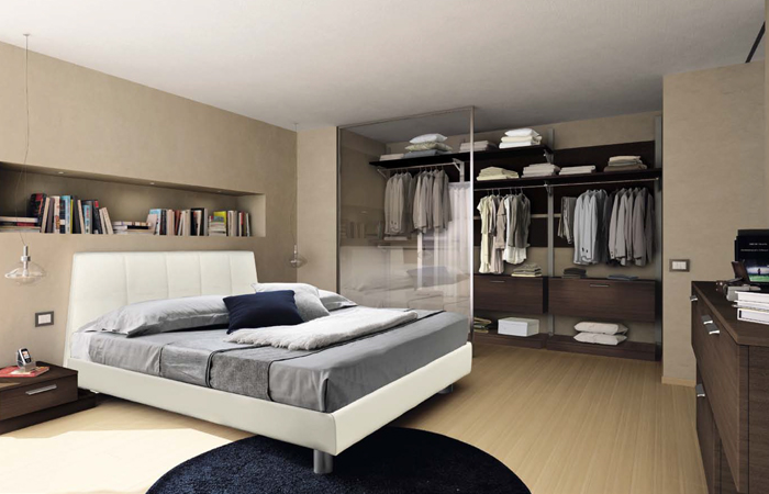 Cabina armadio dietro letto decora la tua vita - Armadio dietro letto matrimoniale ...