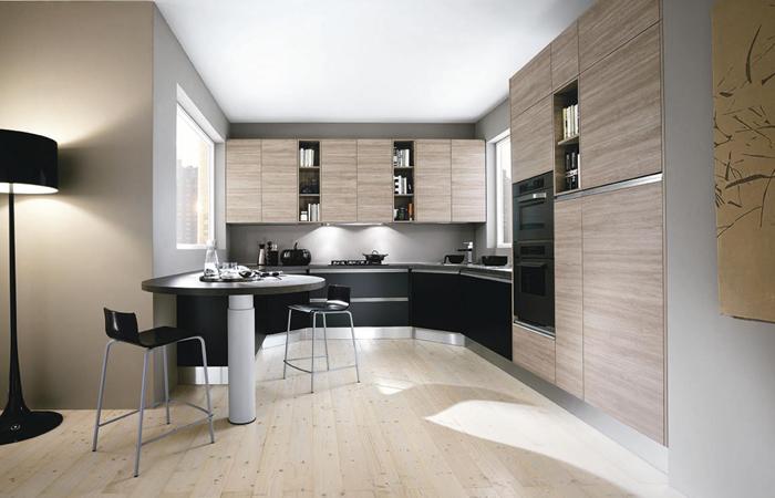 Cucina moderna piccola piccoli spazi in cucina arredali con il