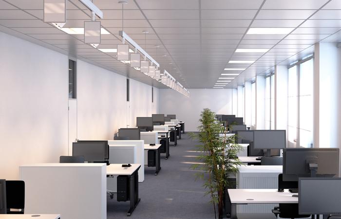 Illuminazione luci led neon ufficio stl srl
